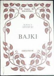 BAJKI - Ignacy Krasicki 1989