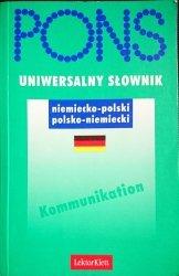 PONS UNIWERSALNY SŁOWNIK. NIEMIECKO-POLSKO POLSKO-NIEMIECKI