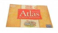 MOJA HISTORIA 5 ILUSTROWANY ATLAS DO HISTORII 2005