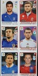 EURO 2012 NAKLEJKI NUMERY: 65 87 130 382 161 322