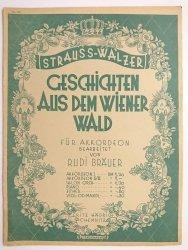 STRAUSS-WALZERT. GESCHICHTEN AUS DEM WIENER WALD FUR AKKORDEON - Rudi Brauer