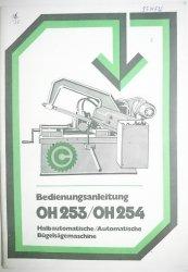 BEDIENUNGSANLEITUNG OH253 / OH254 HALBAUTOMATISCHE