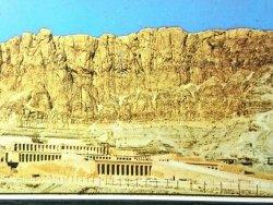 EGYPT. DEIR-EL-BAHARI THE TEMPLE OF HATSCHEPSUT