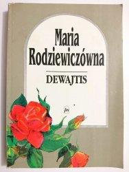 DEWAJTIS - Maria Rodziewiczówna 1991