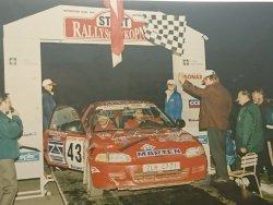 RAJD WRC 2005 ZDJĘCIE NUMER #289 HONDA CIVIC