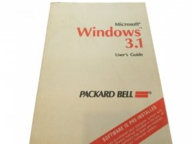 MICROSOFT WINDOWS 3.1 USER'S GUIDE