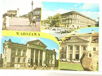 WARSZAWA. PLAC ZAMKOWY; HOTEL EUROPEJSKI