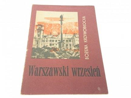 WARSZAWSKI WRZESIEŃ - Bożena Krzywobłocka