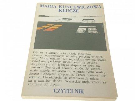 KLUCZE - Maria Kuncewiczowa