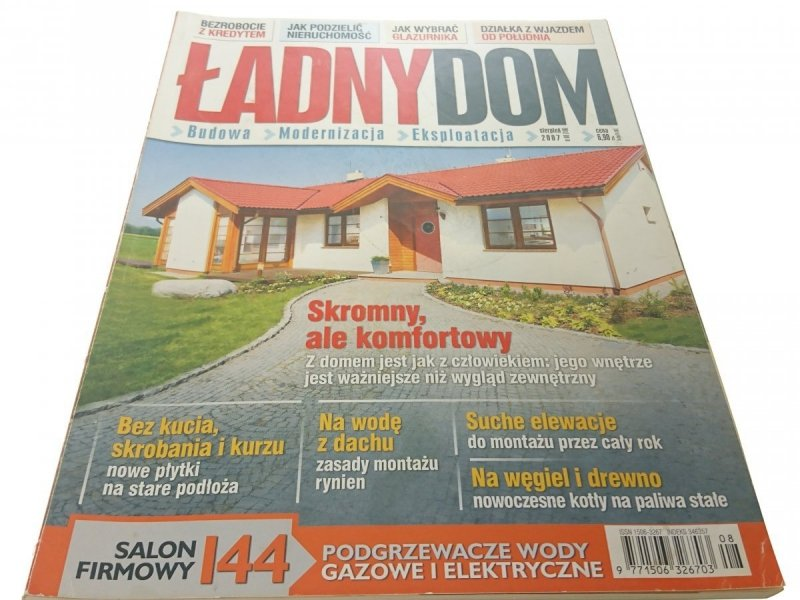 ŁADNY DOM - SIERPIEŃ 2007