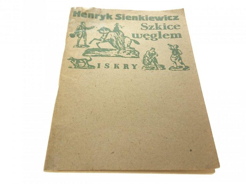 SZKICE WĘGLEM - Henryk Sienkiewicz 1983
