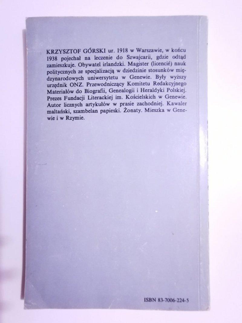 PAPIESTWO W RZYMIE - Krzysztof Górski 1990