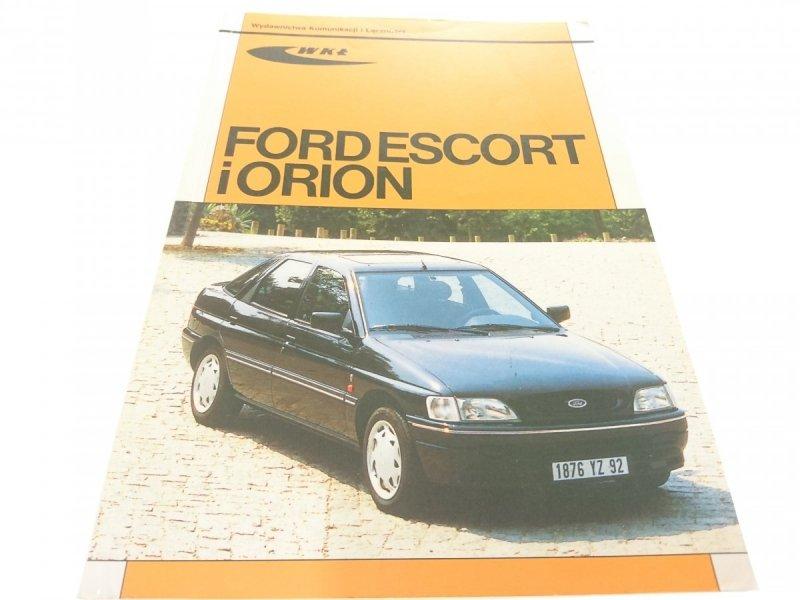 FORD ESCORT I ORION OD MODELI 1991