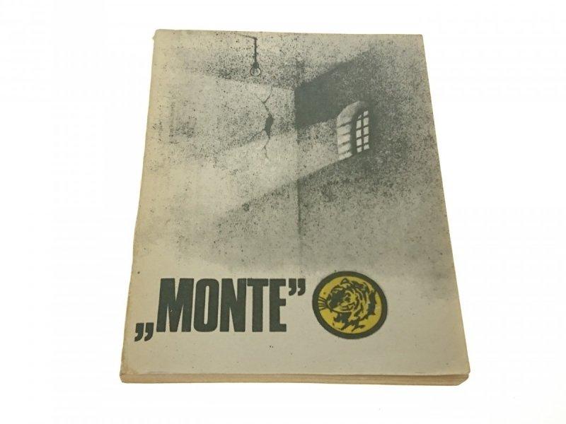 ŻÓŁTY TYGRYS: 'MONTE' - Jankowski 1983