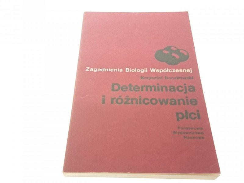 DETERMINACJA I RÓŻNICOWANIE PŁCI - K. Boczkowski