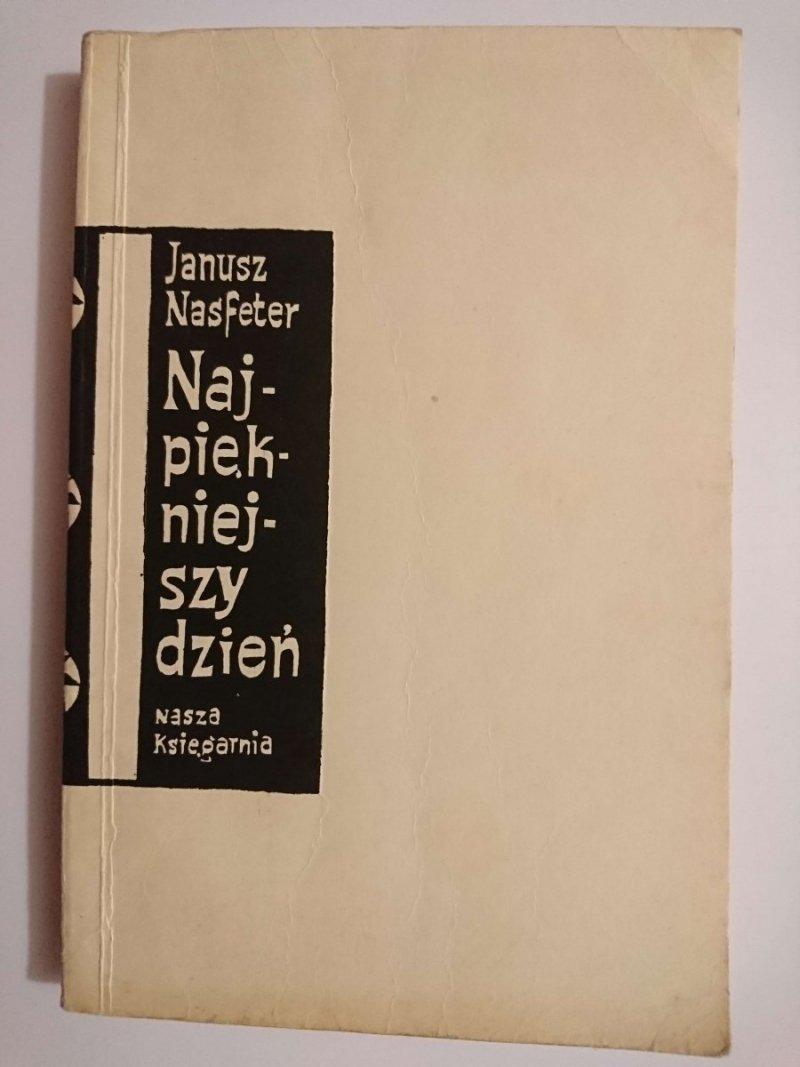 NAJPIĘKNIEJSZY DZIEŃ - Janusz Nasfeter 1962