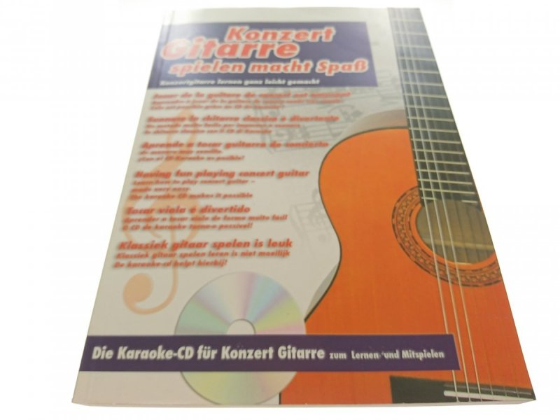 KONZERT GITARRE SPIELEN MACHT SPAB. BEZ CD