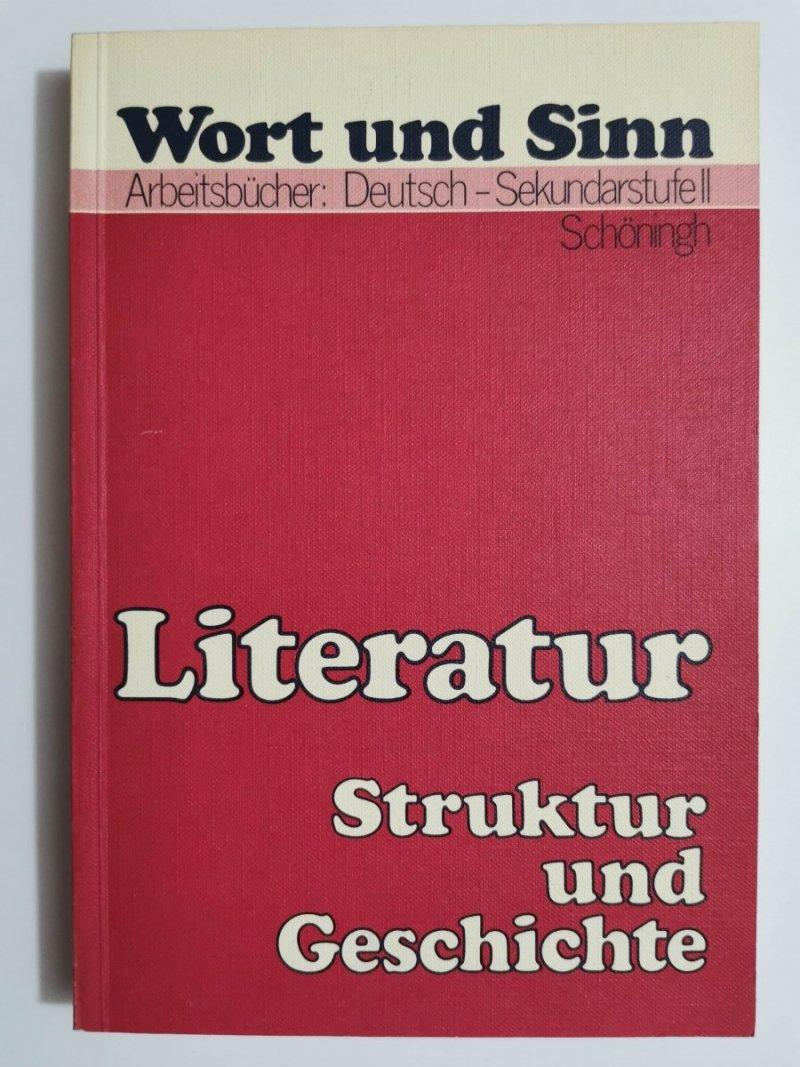 LITERATUR STRUKTUR UND GESCHICHTE. SEKUNDARSTUFE II 1980