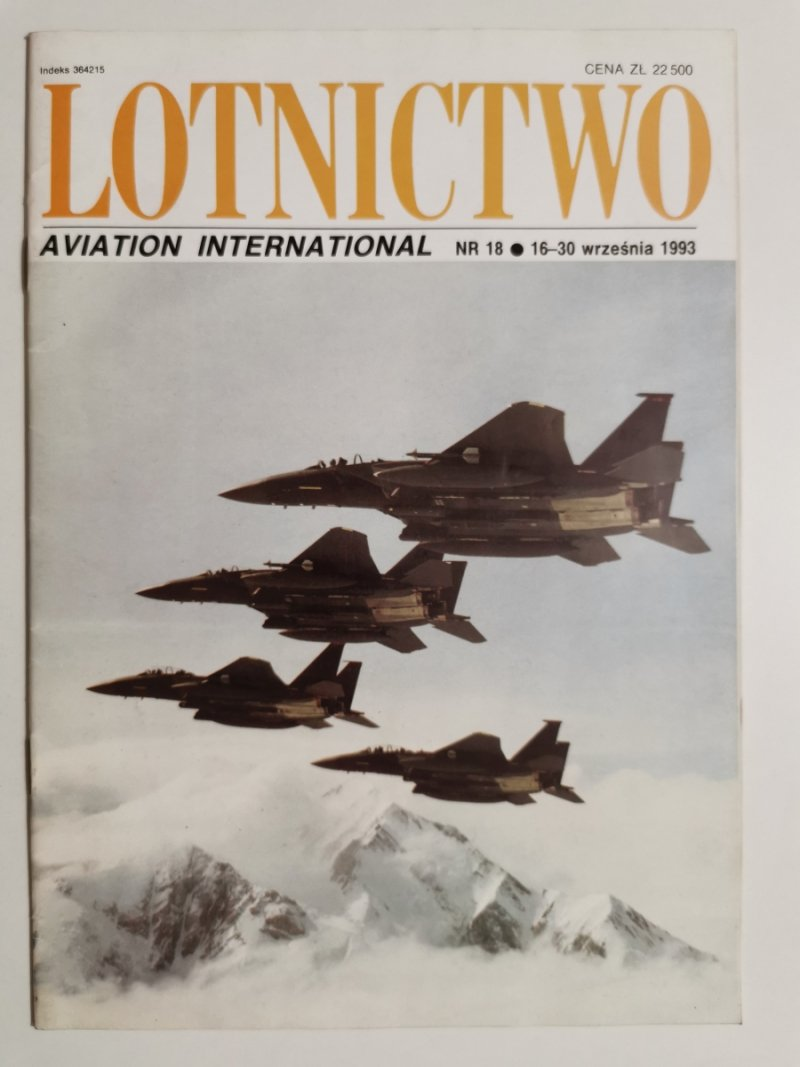 LOTNICTWO NR 18 1993