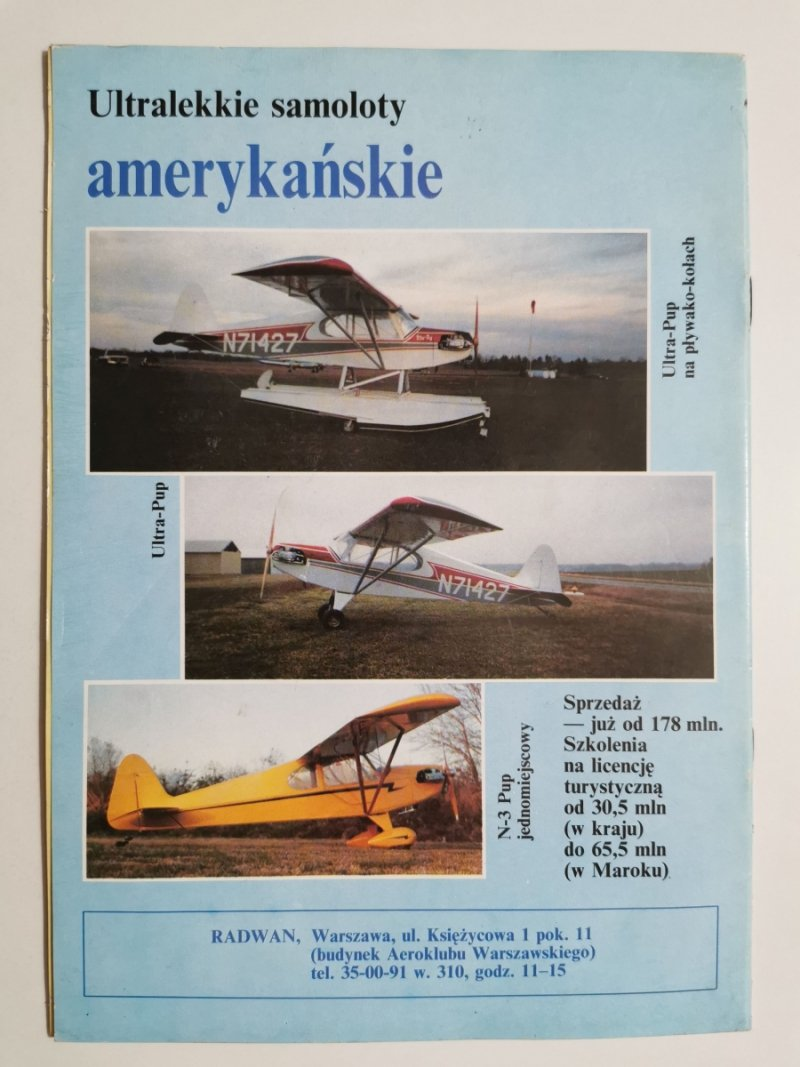 LOTNICTWO NR 18 1992