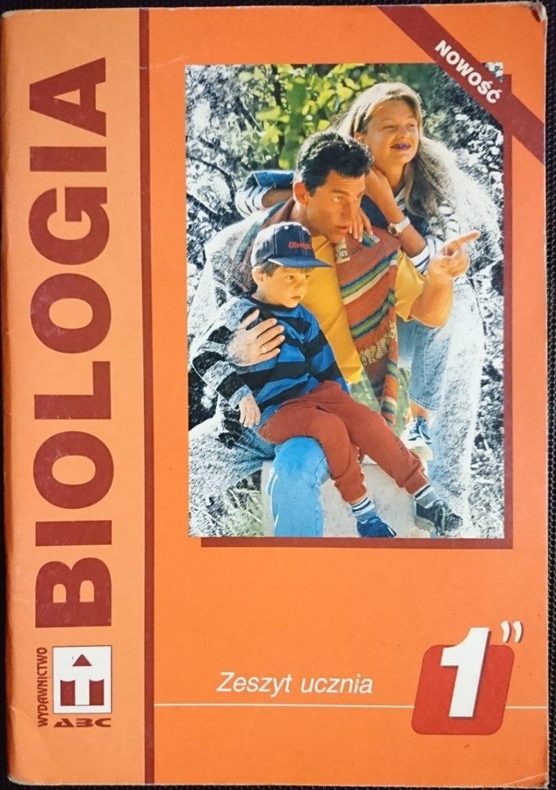 BIOLOGIA. ZESZYT UCZNIA KLASA I CZĘŚĆ II Gulewicz