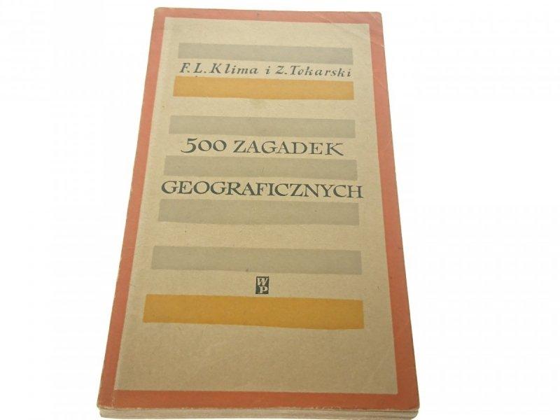 500 ZAGADEK GEOGRAFICZNYCH - Klima 1961