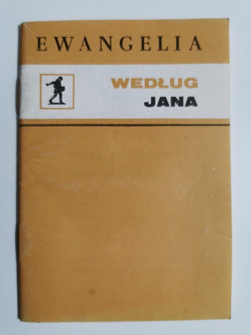 EWANGELIA WEDŁUG JANA 1976