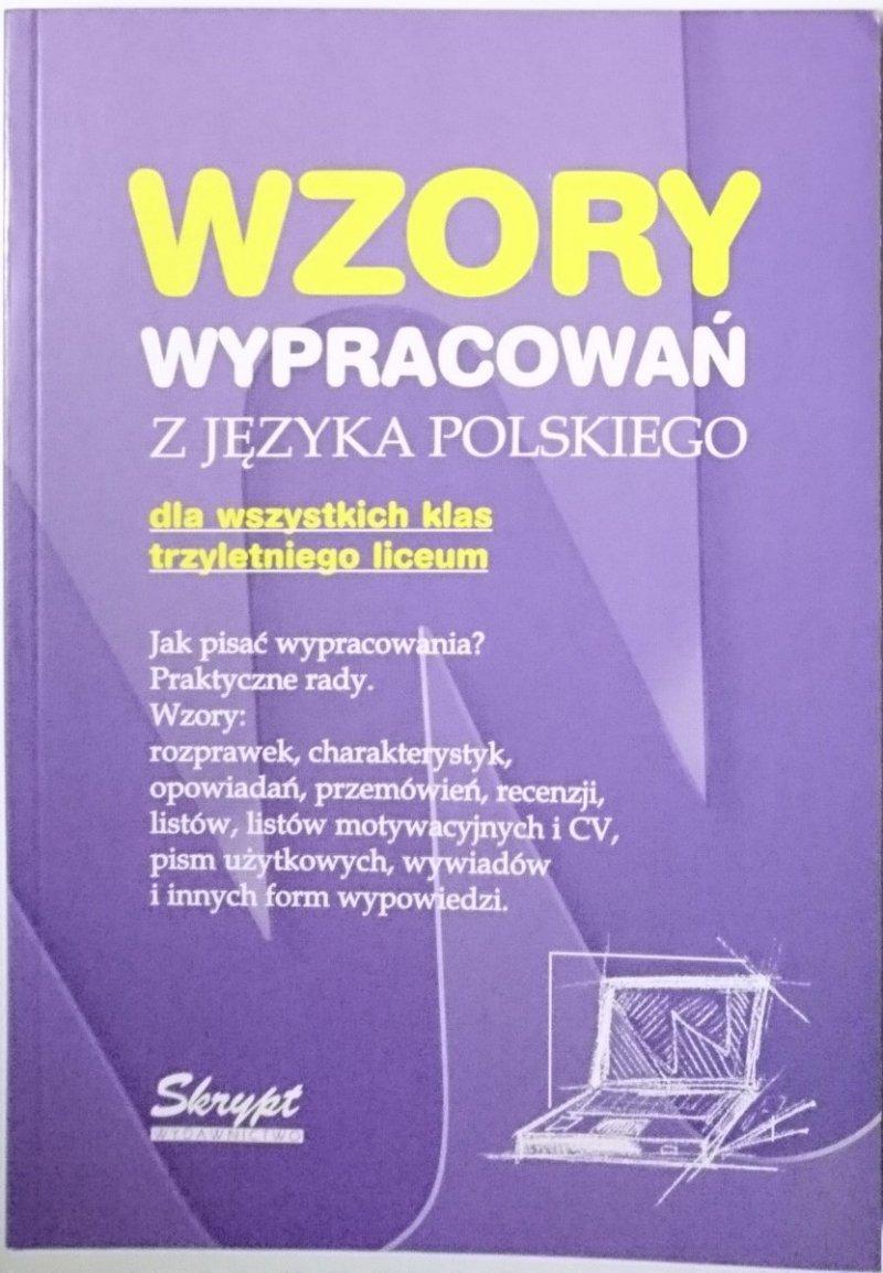 WZORY WYPRACOWAŃ Z JĘZYKA POLSKIEGO - Poznański