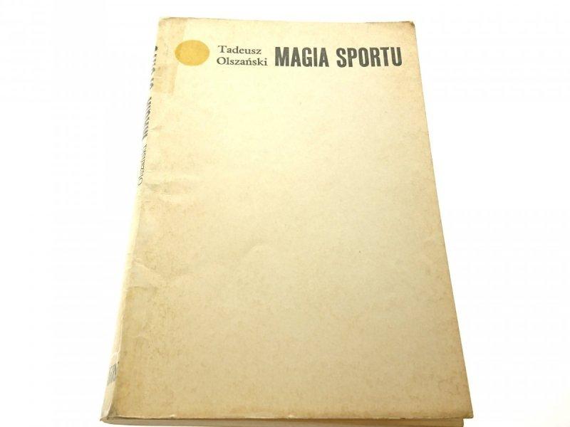 MAGIA SPORTU - Tadeusz Olszański 1972