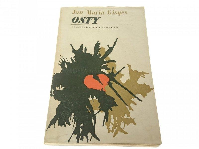 OSTY - Jan Maria Gisges (1966)