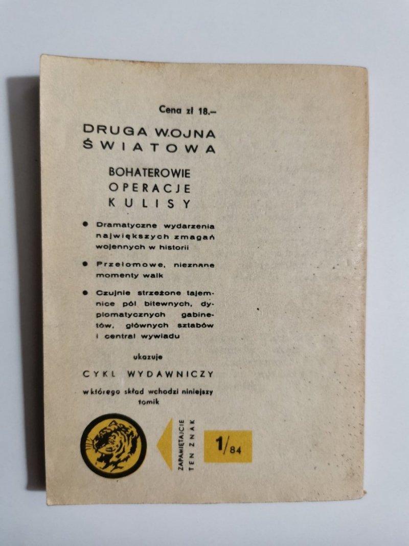 ŻÓŁTY TYGRYS: OCHOTNICZA WARSZAWSKA - Maria Jarkowska 1984