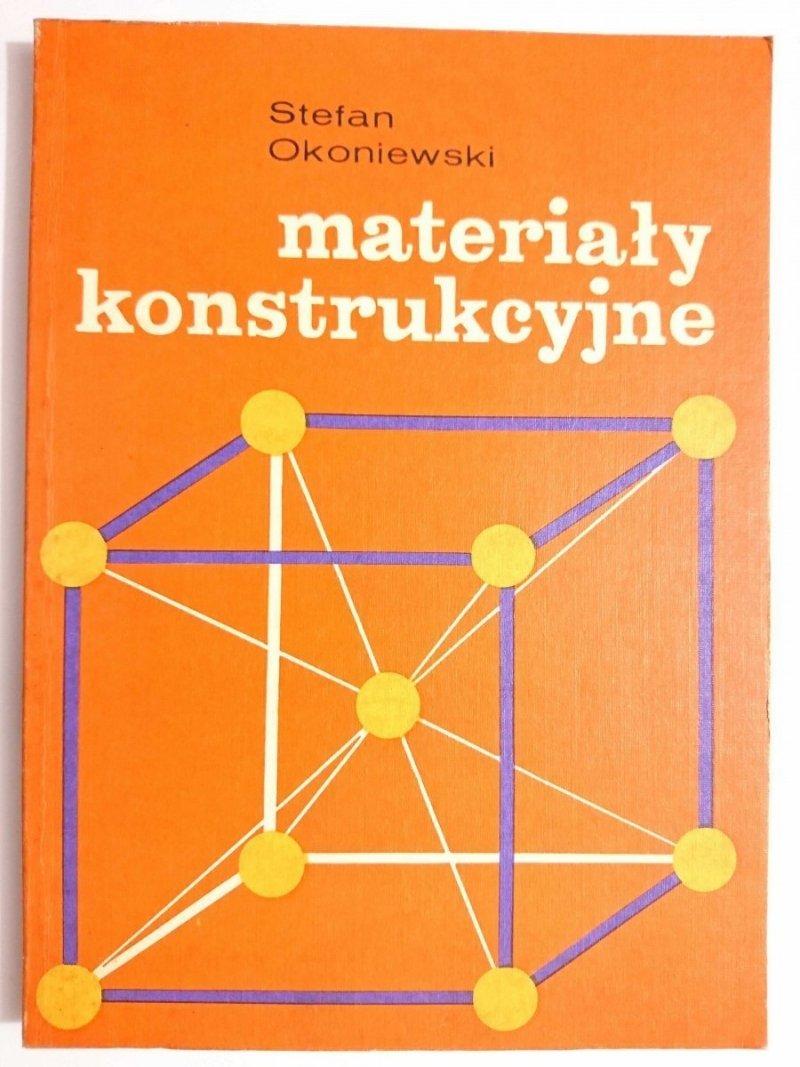 MATERIAŁY KONSTRUKCYJNE - Stefan Okoniewski 1976