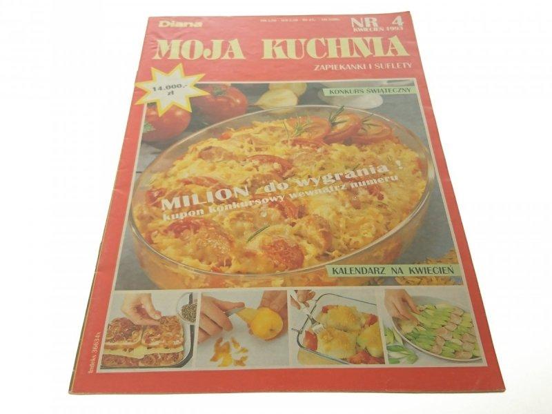 MOJA KUCHNIA NR. 4 KWIECIEŃ 1993 ZAPIEKANKI