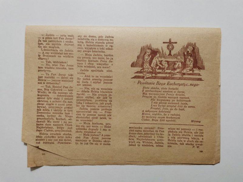 MŁODY GŁOS DODATEK DO GŁOSU KATOLICKIEGO NR 42 1951