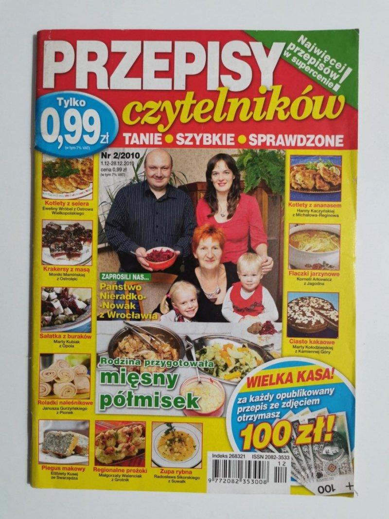 PRZEPISY CZYTELNIKÓW NR 2/2010