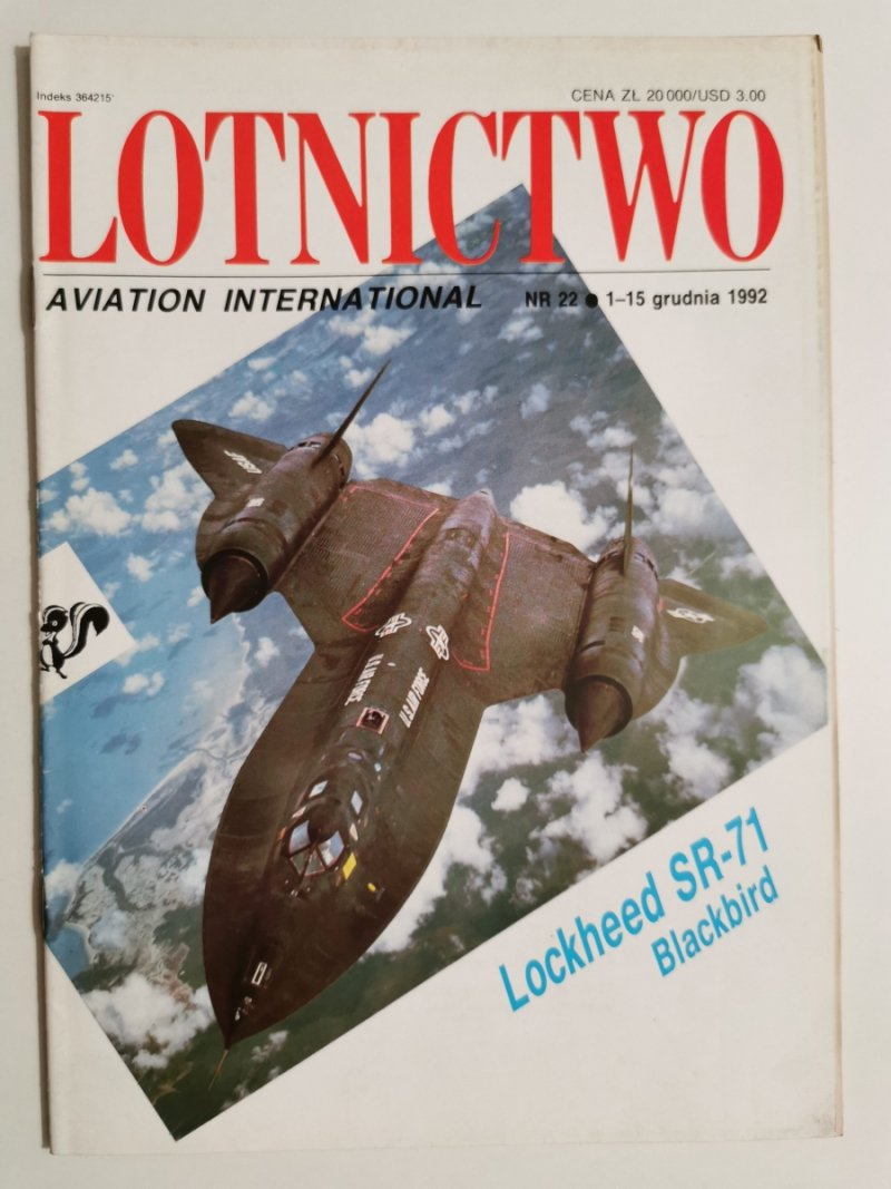 LOTNICTWO NR 22 1992