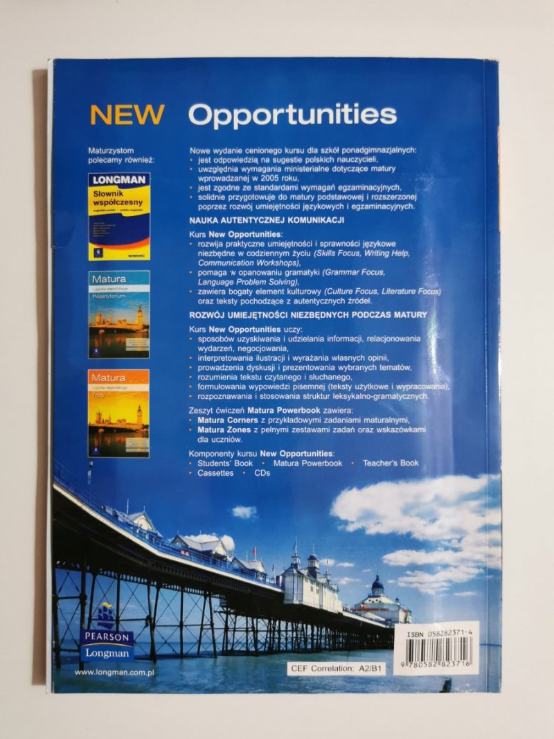 NEW OPPORTUNITIES. PRE-INTERMEDIATE STUDENTS BOOK