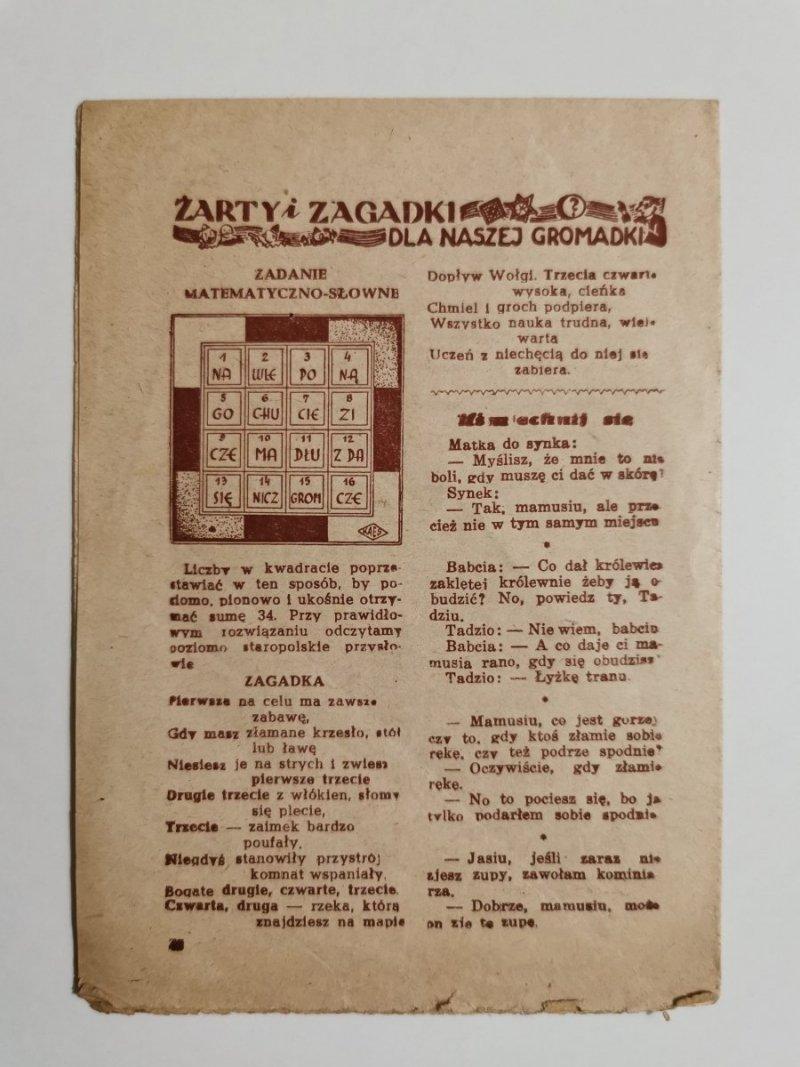 MŁODY GŁOS DODATEK DO GŁOSU KATOLICKIEGO ROK IV POZNAŃ, DNIA 10 II 1952