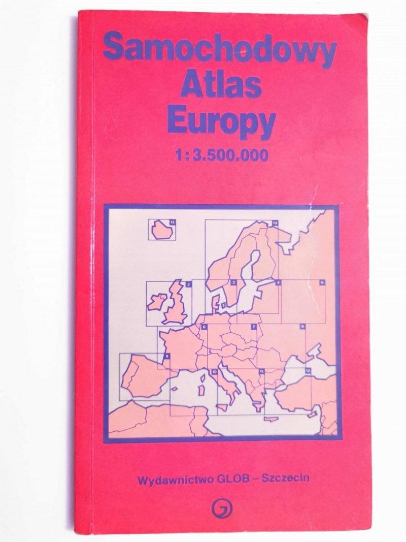 SAMOCHODOWY ATLAS EUROPY 1: 3 500 000