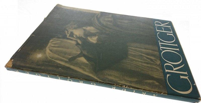 ARTUR GROTTGER. PIĘĆ CYKLÓW - Wiesław Juszczak