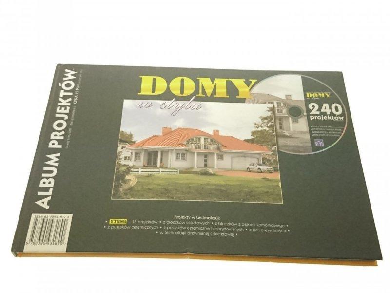 DOMY W STYLU. ALBUM PROJEKTÓW NR 2(10)/2003