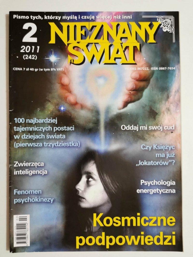 NIEZNANY ŚWIAT NR 2 2011 (242) KOSMICZNE PODPOWIEDZI