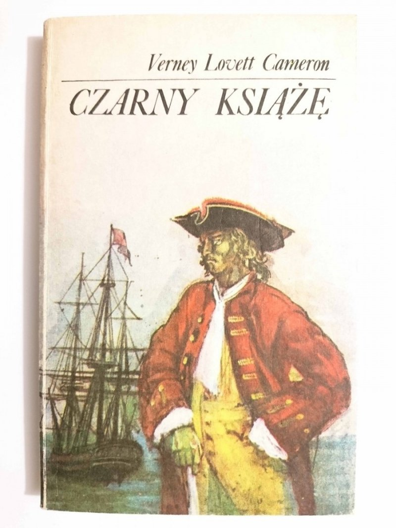 CZARNY KSIĄŻĘ - Verney Lovett Cameron 1984