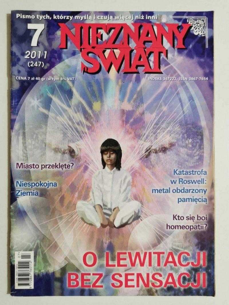 NIEZNANY ŚWIAT NR 7 2011 (247) O LEWITACJI BEZ SENSACJI