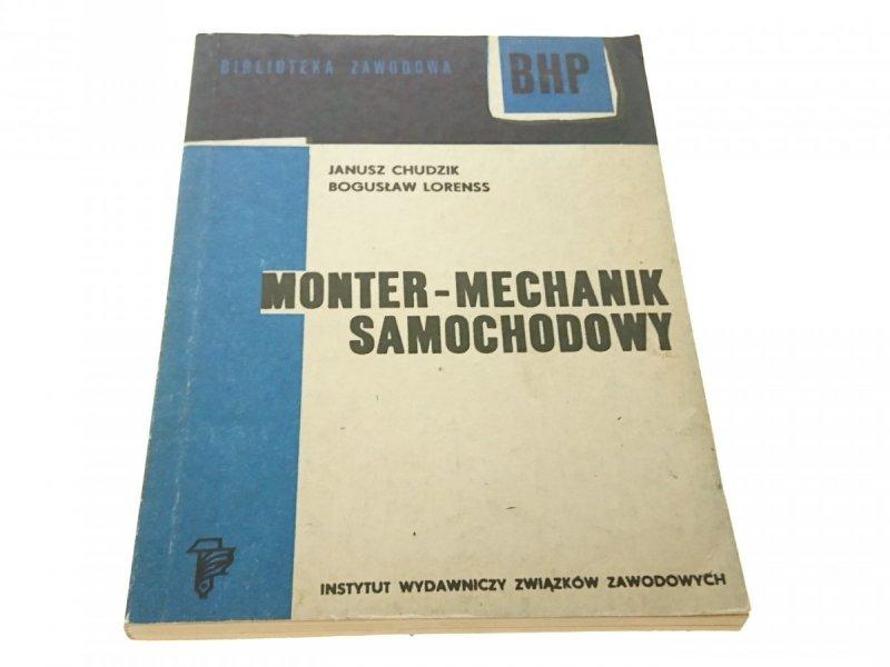 MONTER-MECHANIK SAMOCHODOWY - JANUSZ CHUDZIK