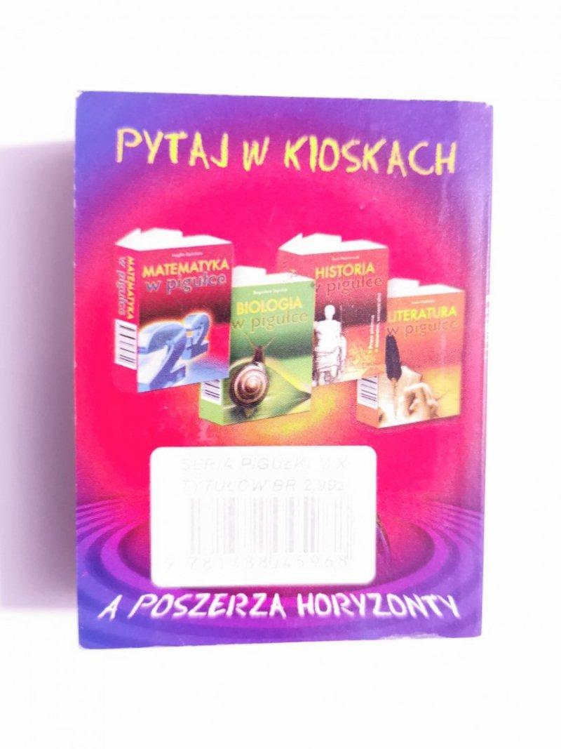GEOGRAFIA W PIGUŁCE - Jarosław Kamiński 2006