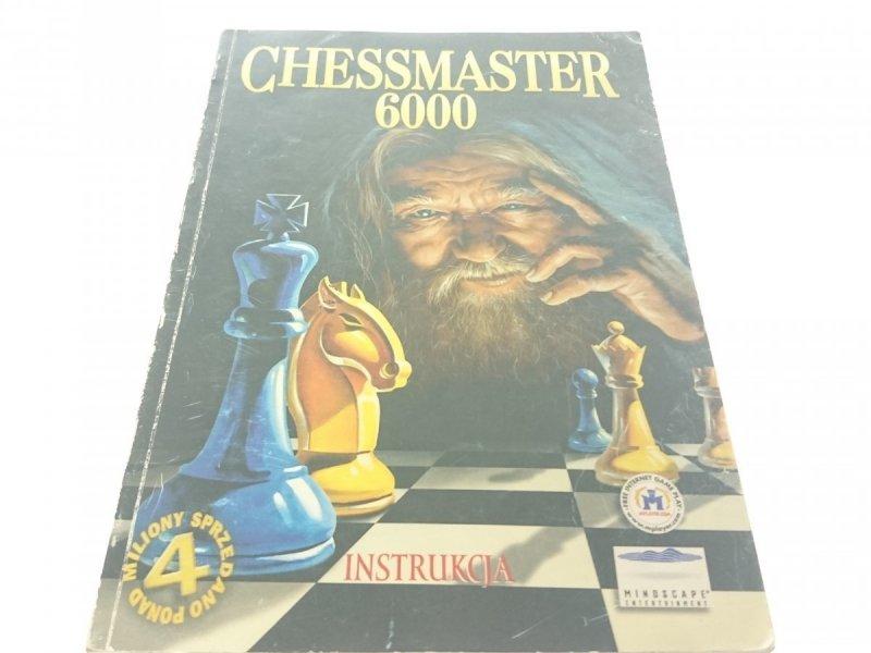 CHESSMASTER 6000 INSTRUKCJA (1998)