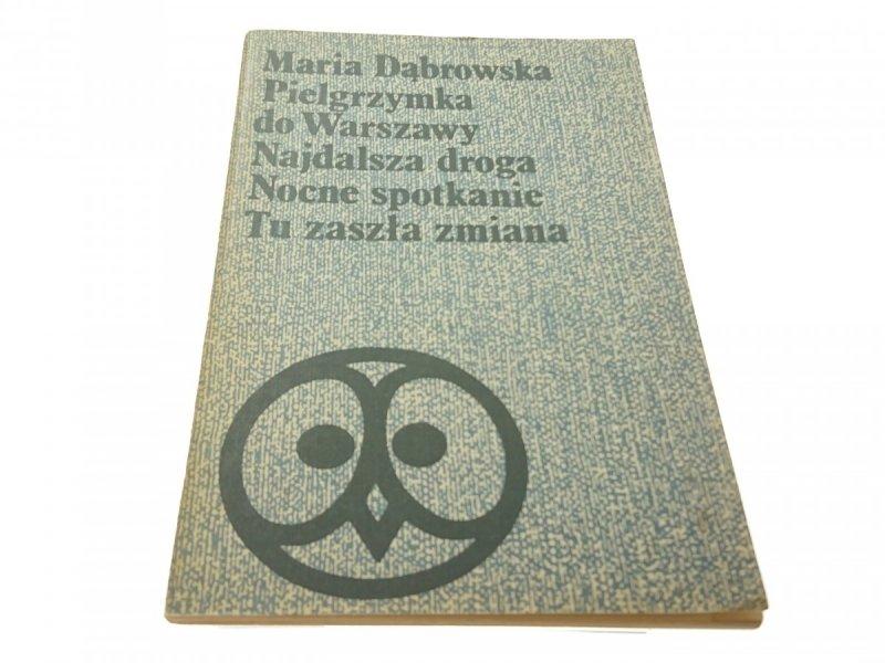 PIELGRZYMKA DO WARSZAWY. NAJDALSZA DROGA (1974)