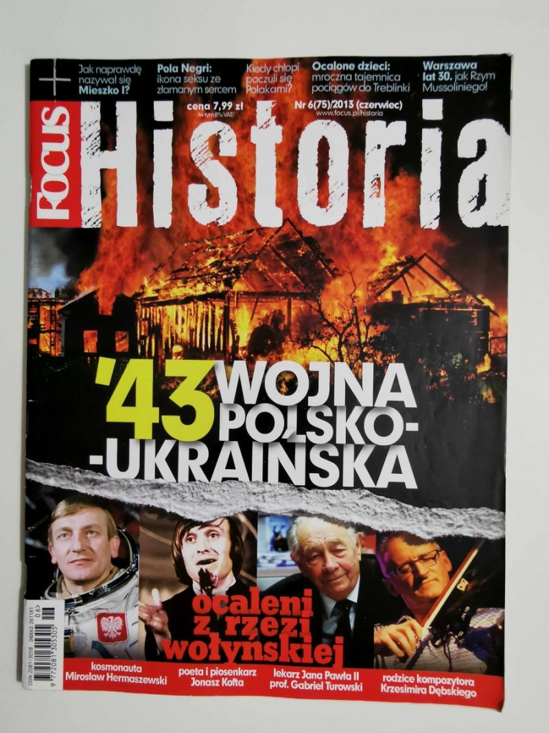 FOCUS HISTORIA NR 6 (75)/2013 CZERWIEC