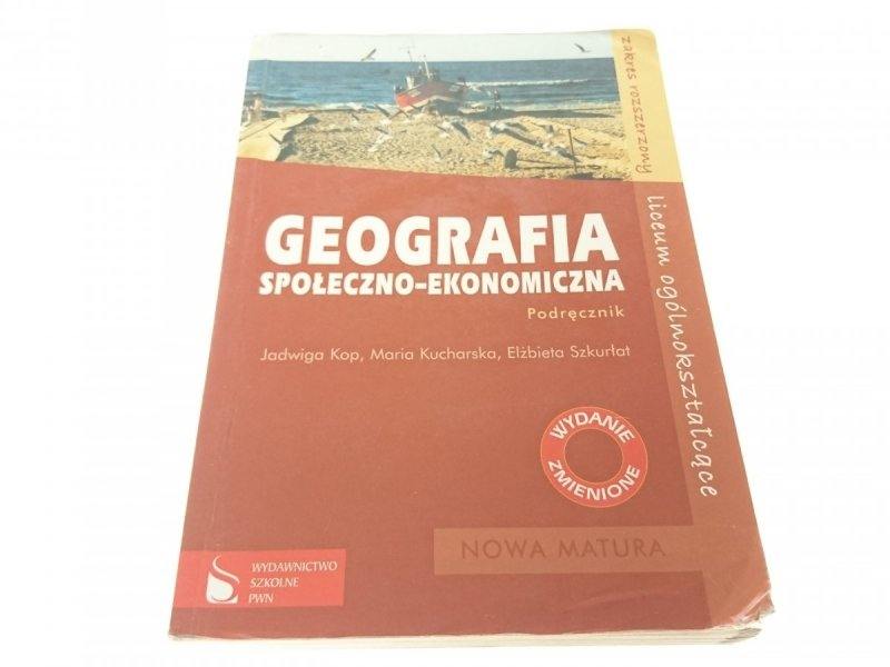 GEOGRAFIA SPOŁECZNO-EKONOMICZNA. PODRĘCZNIK (2008)